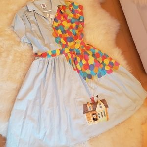 Disney Dresses - Disney Dress Shop Carl Fredricksen Russel Up Dress